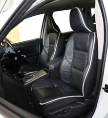 2009 Volvo XC90 P28 MY10 D5 Geartronic R-Design White 6 Speed Sports Automatic Wagon