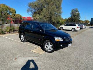 2007 Kia Sorento BL MY08 EX Black 5 Speed Sports Automatic Wagon.