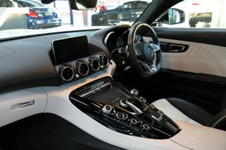2017 Mercedes-Benz AMG GT C190 807MY S SPEEDSHIFT DCT White 7 Speed Sports Automatic Dual Clutch