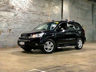 2012 Honda CR-V RE MY2011 Luxury 4WD Black 5 Speed Automatic Wagon.