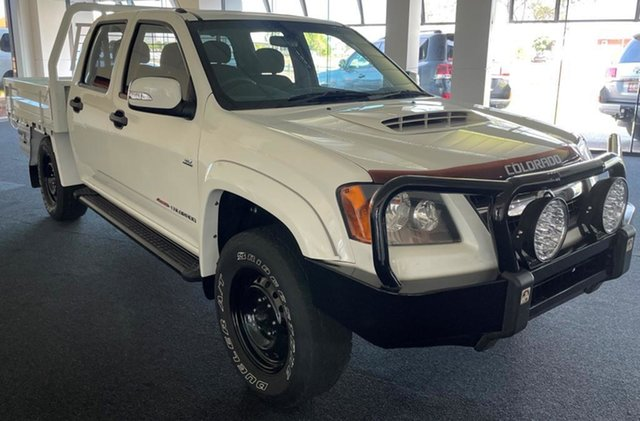 Used Holden Colorado RC MY11 LX-R Crew Cab Winnellie, 2011 Holden Colorado RC MY11 LX-R Crew Cab White 5 Speed Manual Utility