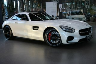 2017 Mercedes-Benz AMG GT C190 807MY S SPEEDSHIFT DCT White 7 Speed Sports Automatic Dual Clutch.