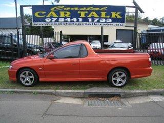 2006 Holden Commodore VZ MY06 S Orange 4 Speed Automatic Utility.