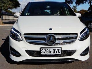 2018 Mercedes-Benz B-Class W246 808+058MY B180 DCT White 7 Speed Sports Automatic Dual Clutch.