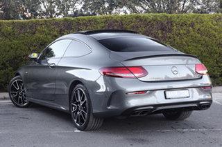2017 Mercedes-Benz C-Class C205 808MY C43 AMG 9G-Tronic 4MATIC Selenite Grey 9 Speed.