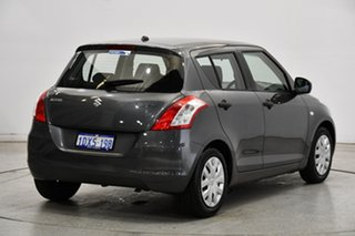 2012 Suzuki Swift FZ GA Grey 4 Speed Automatic Hatchback