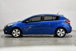 2015 Kia Cerato YD MY15 S Blue 6 Speed Sports Automatic Hatchback.