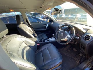 2012 Nissan Dualis J10W Series 3 MY12 Ti-L Hatch X-tronic 2WD Black 6 Speed Constant Variable