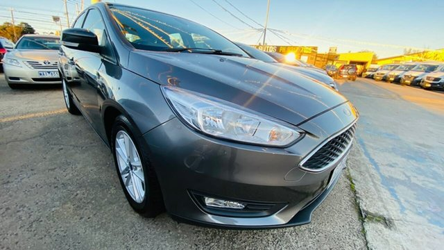 Used Ford Focus LZ Trend Maidstone, 2015 Ford Focus LZ Trend Grey 6 Speed Automatic Hatchback
