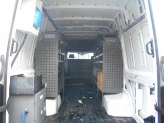 2013 Volkswagen Crafter 2EH2 MY13 50 TDI 340 LWB White 6 Speed Manual Van
