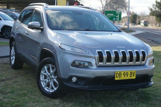 Used Jeep Cherokee KL Longitude Phillip, 2014 Jeep Cherokee KL Longitude White 9 Speed Sports Automatic Wagon
