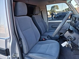 2018 Toyota Landcruiser VDJ79R GXL Silver 5 Speed Manual Cab Chassis
