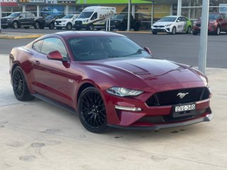 2018 Ford Mustang GT Ruby Red Sports Automatic Fastback.