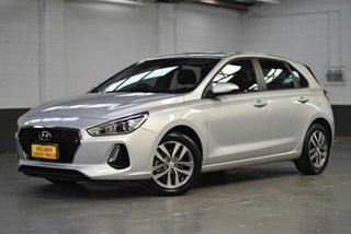 2017 Hyundai i30 GD4 Series II MY17 Active Silver 6 Speed Manual Hatchback