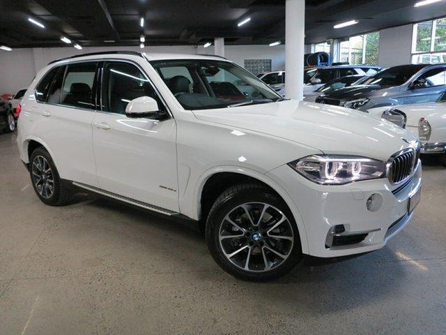 Used BMW X5 F15 xDrive30d Albion, 2016 BMW X5 F15 xDrive30d White 8 Speed Sports Automatic Wagon