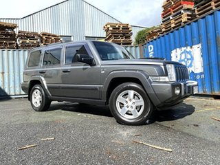 2007 Jeep Commander XH Limited Grey 5 Speed Sports Automatic Wagon.