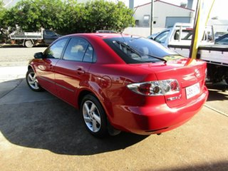 2005 Mazda 6 GG1031 MY04 Classic Red 5 Speed Manual Hatchback.