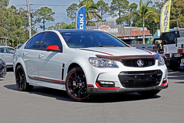 Used Holden Commodore VF II MY17 Motorsport Edition Chandler, 2017 Holden Commodore VF II MY17 Motorsport Edition White 6 Speed Sports Automatic Sedan