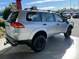 2011 Mitsubishi Challenger PB MY11 Silver 5 Speed Automatic Wagon