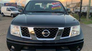 2009 Nissan Navara D40 ST-X (4x4) Black 5 Speed Automatic Dual Cab Pick-up.