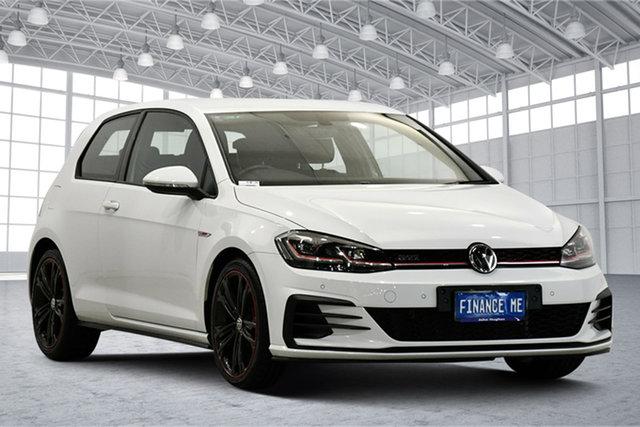 Used Volkswagen Golf 7.5 MY18 GTI DSG Original Victoria Park, 2017 Volkswagen Golf 7.5 MY18 GTI DSG Original White 6 Speed Sports Automatic Dual Clutch Hatchback
