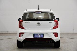 2019 Kia Picanto JA MY20 GT-Line White 4 Speed Automatic Hatchback