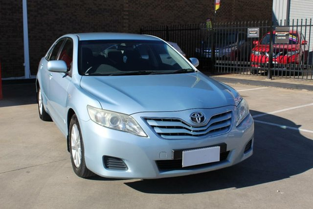 Used Toyota Camry ACV40R 09 Upgrade Altise Hoppers Crossing, 2010 Toyota Camry ACV40R 09 Upgrade Altise Blue 5 Speed Automatic Sedan