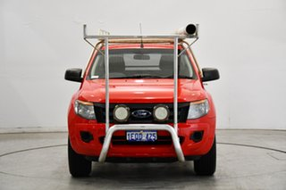 2014 Ford Ranger PX XL Red 6 Speed Manual Cab Chassis.