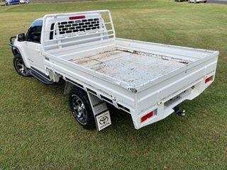 2015 Holden Colorado RG MY15 LS (4x4) White 6 Speed Automatic Cab Chassis