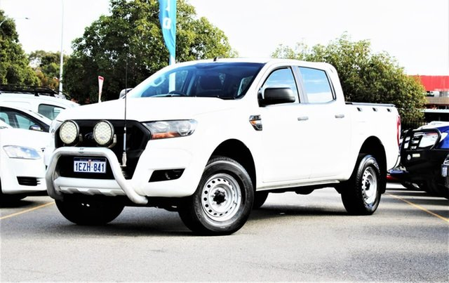 Used Ford Ranger PX MkII XL Hi-Rider Midland, 2015 Ford Ranger PX MkII XL Hi-Rider White 6 Speed Sports Automatic Utility