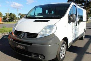 2014 Renault Trafic X83 Phase 3 Low Roof LWB Quickshift White 6 Speed Seq Manual Auto-Clutch Van