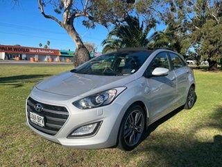 2016 Hyundai i30 GD3 Series II MY17 SR Premium Platinum Silver/black and Red 6 Speed.