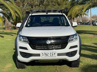 2019 Holden Colorado RG MY20 LS-X Pickup Crew Cab White 6 Speed Manual Utility.