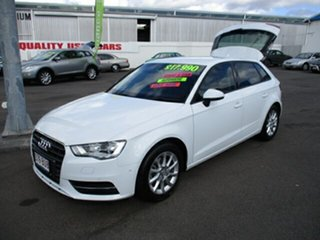 2013 Audi A3 Attraction White 4 Speed Automatic Hatchback.