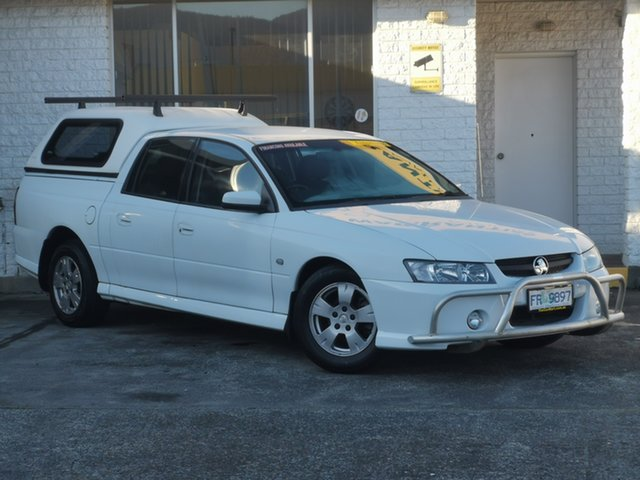 Used Holden Crewman VZ MY06 S Derwent Park, 2006 Holden Crewman VZ MY06 S White 4 Speed Automatic Utility