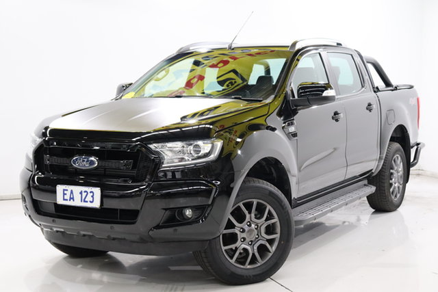Used Ford Ranger PX MkII FX4 Double Cab Brooklyn, 2017 Ford Ranger PX MkII FX4 Double Cab Black 6 Speed Sports Automatic Utility
