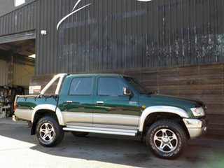 2004 Toyota Hilux VZN167R MY02 SR5 Green 5 Speed Manual Utility.