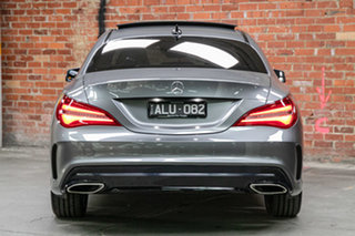 2016 Mercedes-Benz CLA-Class C117 807MY CLA200 DCT Grey 7 Speed Sports Automatic Dual Clutch Coupe