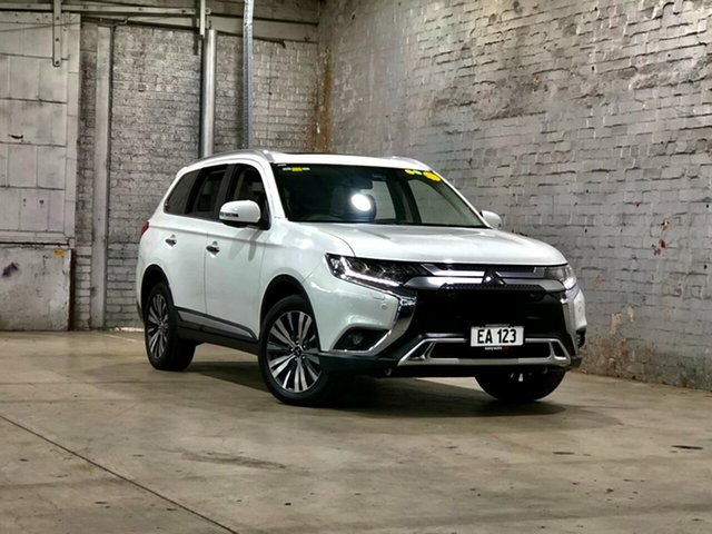 Used Mitsubishi Outlander ZL MY19 Exceed AWD Mile End South, 2019 Mitsubishi Outlander ZL MY19 Exceed AWD White 6 Speed Constant Variable Wagon