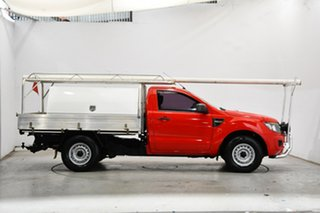 2014 Ford Ranger PX XL Red 6 Speed Manual Cab Chassis