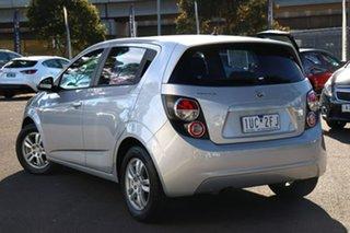 2012 Holden Barina TM Silver 5 Speed Manual Hatchback.