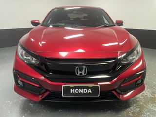 2020 Honda Civic 10th Gen MY20 VTi-S Red 1 Speed Constant Variable Hatchback.