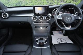 2015 Mercedes-Benz C-Class W205 806MY C250 7G-Tronic + Diamond Silver 7 Speed Sports Automatic Sedan