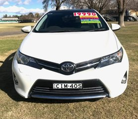2012 Toyota Corolla ZRE182R Levin S-CVT ZR White 7 Speed Constant Variable Hatchback.