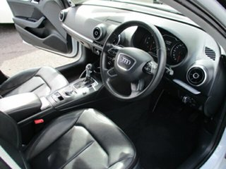 2013 Audi A3 Attraction White 4 Speed Automatic Hatchback
