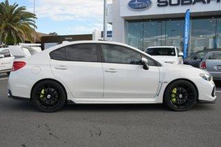 2020 Subaru WRX V1 MY20 STI AWD Premium White 6 Speed Manual Sedan.
