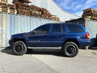 2005 Jeep Grand Cherokee WG MY2004 Overland Blue 5 Speed Automatic Wagon