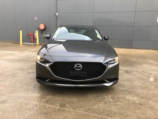 2021 Mazda 3 BP2S7A G20 SKYACTIV-Drive Touring Machine Grey 6 Speed Sports Automatic Sedan.