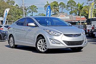 2014 Hyundai Elantra MD3 Trophy Sleek Silver 6 Speed Sports Automatic Sedan.