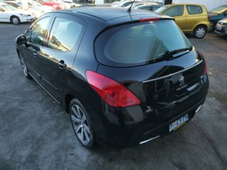2008 Peugeot 308 T7 XS Touring Black 4 Speed Sports Automatic Wagon